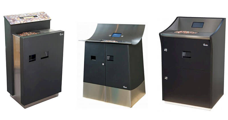 Modern designed coin deposit systems