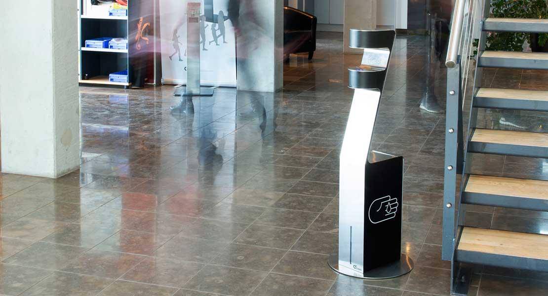 Zenzation Sanitizer Dispenser Floor Stand